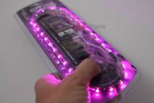 "20 "" Violet Ultrabrights Led Flexible 12v Phare Auto Étanche Bande Lumineuse"