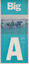 RARE VINTAGE HORSE  RACING PROGRAM  SEPT 5 1968
