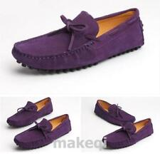 Men's loafer driving casual shoes lace up moccasin gommino 11 color Flat HEE New