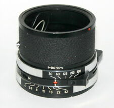 Used Rollei 80mm f4  shutter only - no lens SL66 - NICE CONDITION