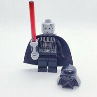 Lego Darth Vader (DEATH STAR TORSO) No Eyebrows 8017 10188 Star Wars Minifigure