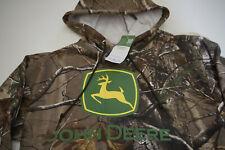 John Deere camo hoodie sweatshirt  new  sz L tractors