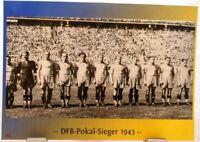 First Vienna FC + Wien + DFB Pokal Sieger 1943 + Fan Big Card Edition F111+