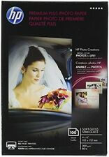 HP Premium Plus Photo Paper, Soft Gloss, 4x6, 100 Sheets (CR666A), New