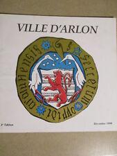 VILLE D'ARLON - DECEMBRE 1990 - 2EME EDITION