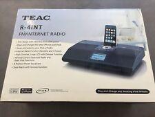 TEAC R-4int - FM / Internet Radio & Ipod Dock