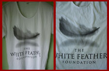 THE WHITE FEATHER FOUNDATION - GRAPHIC T-SHIRT (M)   NEW