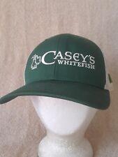 CASEY'S Bar Pub Hat Ball Cap Snapback Meshback Whitefish Montana Shamrock NWOT