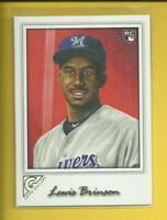 Lewis Brinson RC 2018 Topps Gallery Rookie Card # 149 Brewers Miami Marlins