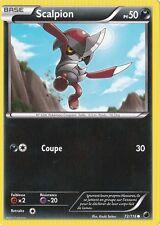 Scalpion - N&B:Glaciation Plasma - 72/116 - Carte Pokemon Neuve Française