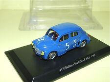 RENAULT 4CV Berline BOL D'OR R1063 en 1952 ELIGOR Neuf Sous Blister