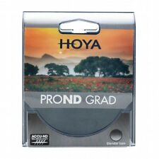 HOYA Pro ND Grad 16 Gradual Filter 77, 82mm Verlaufs-Rundfilter ND16 (4 Stops)