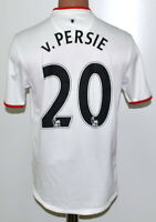 MANCHESTER UNITED 2012/2013/2014 AWAY FOOTBALL SHIRT NIKE V. PERSIE #20 SIZE S