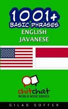 1001+ Basic Phrases English - Javanese, Paperback by Soffer, Gilad, Isbn 1537.