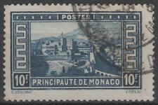 """MONACO STAMP N° 133 """" PALAIS PRINCIER 10F BLEU """" OBLITERE TB  N306"""