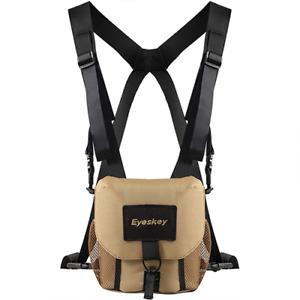Universal Binocular Case Harness Durable Portable  Binoculars Camera Chest Pack