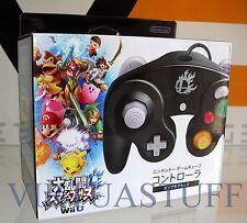 Gamecube Controller, Super Smash Bros, Black, Wii U, DOL-003, Nintendo,brand new