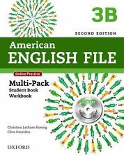 American English File, Level 3B by Christina Latham-Koenig and Clive Oxenden...