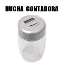 HUCHA ELECTRONICA CON CONTADOR Y PANTALLA LCD DIGITAL CONTADORA