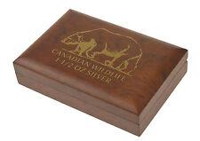 Canadian Wildlife 1,5 Oz Box/Münzbox/Kassette Polar/Arctic Fox /Bear 8 Dollars