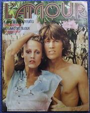 L'AMOUR - Magazine n°4 de 1974 - Complet du POSTER central - Erotica...