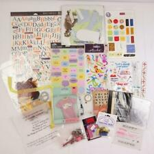 Mixed Lot of Scrapbook Embellishments and Stickers