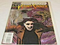 SAINT SINNER #1 CLIVE BARKER / FOIL COVER MARVEL 1993 COMIC UNREAD VF