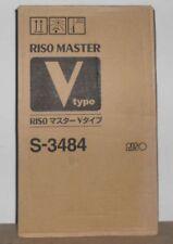 Riso S-3484 Master A3 Risograph V-type 2erPack für V 8000 RN RP  OVP B