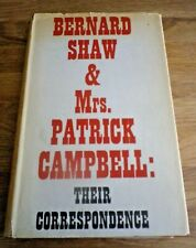 1952 1st Edition BERNARD SHAW & MRS PATRICK CAMPBELL Their Correspondence