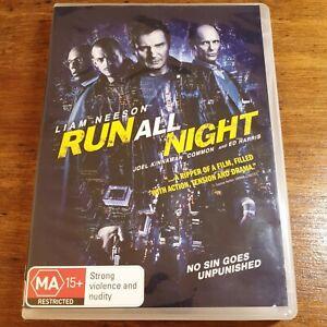 Run All Night DVD R4 LIKE NEW FREE POST