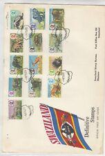 More details for swaziland 1969 definitive wildlife fdc cds j7060