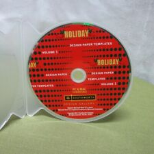 HOLIDAY Design Paper Templates CD-Rom gallery Southworth 2004