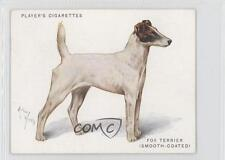 1933 Tobacco Base #20 Smooth-Coated Fox Terrier Non-Sports Card 0f3