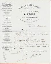 CR68-L.A.S-P.DUGAS-SUCCESSEUR-AGENCE THÉÂTRALE & LYRIQUE-1882