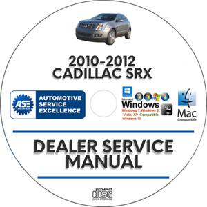 Repair Manuals Literature For Cadillac Srx For Sale Ebay