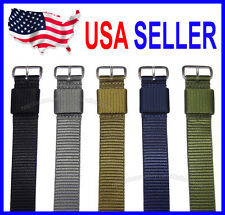 18mm 20mm 22mm Modern Mil Series RAF Military Nylon Watch Band Strap