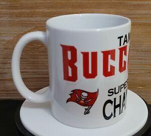 BUCCANEERS Champions Super Bowl LV Coffee Mug Taza Cup 11oz Ceramic NFL Football