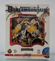 Advanced Dungeons & Dragons - Descent to Undermountain PC Big Box with Inserts