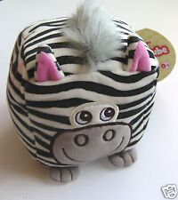 SOFT SQUIDGY ACTIVITY CUBE BY FIESTA CRAFTS - ZEBRA - AGE: FROM BIRTH - NEW!