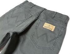 Men's Ex Wrangler Brand Texas Stretch Grey Jeans RRP £75 REF: WA75 (G)