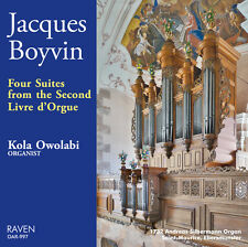 Boyvin: 4 Suites, 2nd Livre d'Orgue, Kola Owolabi, 1732 A. Silbermann pipe organ