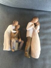 Willow Tree You and Me Figurine & Promise Great Condition Just Precious