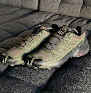 Salomon SPEEDCROSS 5 - Größe 43 1/3 - NEUWERTIG - Trail Running - Wanderschuhe