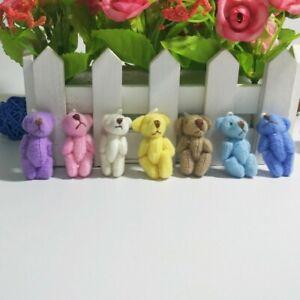 Mini Plush Teddy Bears Ideal Party Bags/Gift/Wedding/Favour/Baby Shower/Keepsake