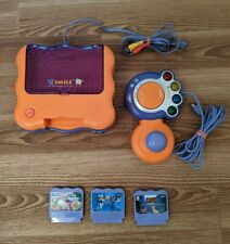 Vtech Vsmile TV Learning System With 3 Games