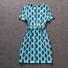 Vestiti da donna blu formale con girocollo