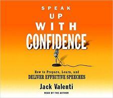 JACK VALENTI - SPEAK UP WITH CONFIDENCE - 4 CD SET