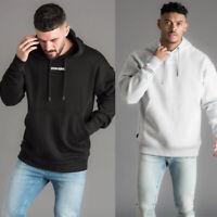 Gym King Mens Overhead Designer Brand Carrier Pullover Hooded Sweatshirt Hoodie