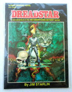 Dreadstar by Jim Starlin Marvel Graphic Novel No. 3 Metamorphosis Odyssey series