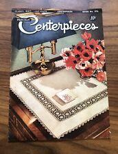 Vintage Centerpieces Magazine - Priscilla- J & P Coats - Stitching Sewing